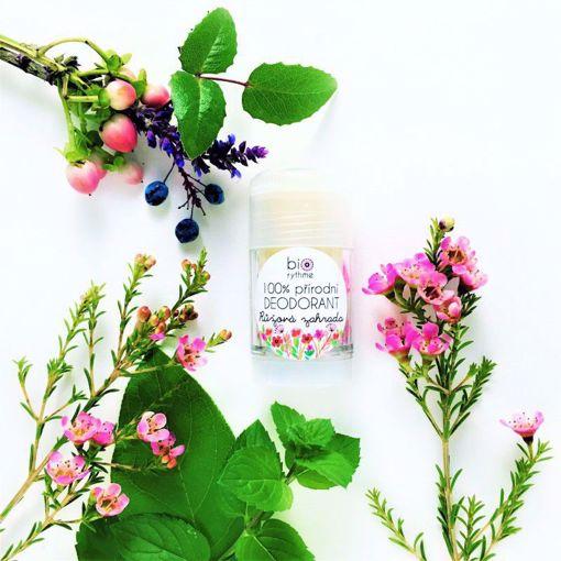 Obrázek z Biorythme 100% přírodní deodorant Růžová zahrada (velký)