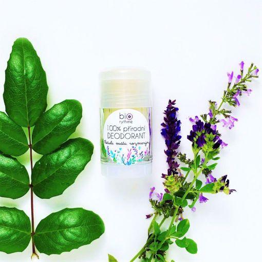 Obrázek z Biorythme  100% přírodní deodorant Pačuli, máta, rozmarýn (velký)