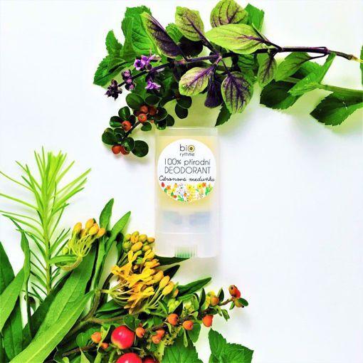 Obrázek z Biorythme 100% přírodní deodorant Citronová meduňka (malý)
