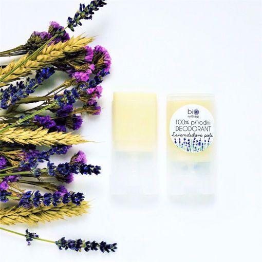 Obrázek z Biorythme 100% přírodní deodorant Levandulové pole (malý)