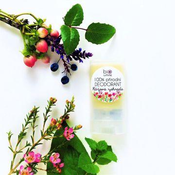 Obrázek Biorythme  100% přírodní deodorant Růžová zahrada (malý)