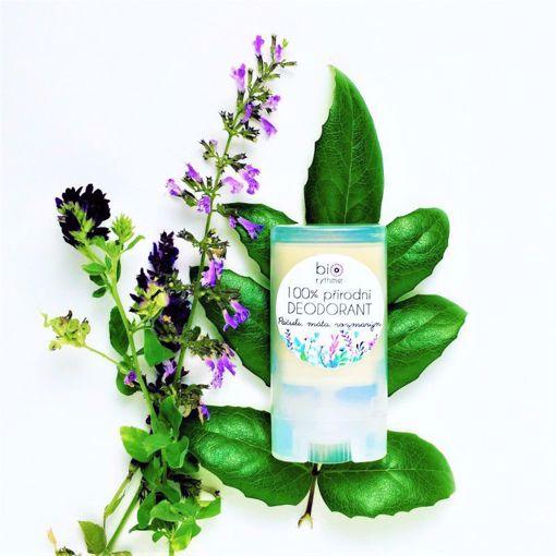 Obrázek z Biorythme 100% přírodní deodorant Pačuli, máta, rozmarýn (malý)