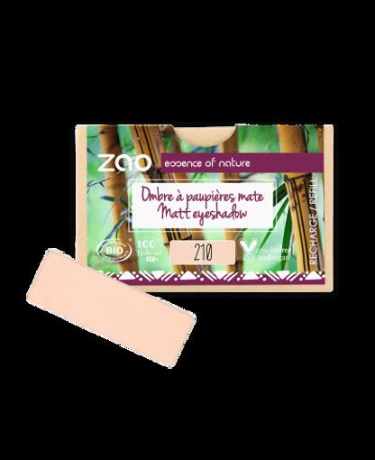 Obrázek z ZAO Obdélníkový matný oční stín 210 Peachy pink - náplň