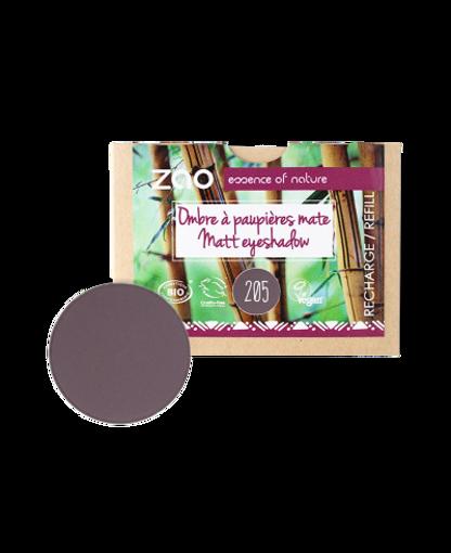 Obrázek z ZAO Matný oční stín NÁPŇ 205 Dark Purple