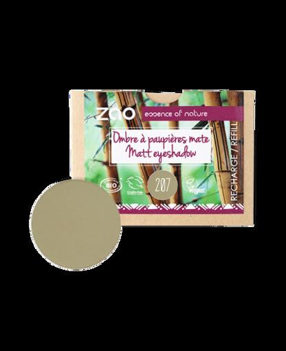 Obrázek z ZAO Matný oční stín 207 Green Olive - náplň