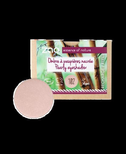 Obrázek z ZAO Perleťový oční stín 102 Pearly Pinky Beige - náplň