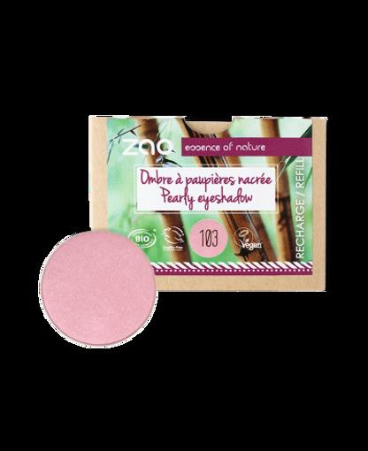 Obrázek z ZAO Perleťový oční stín 103 Pearly Old Pink - náplň