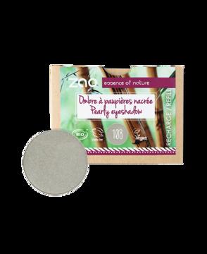 Obrázek ZAO Perleťový oční stín 108 Pearly Grey Green - náplň