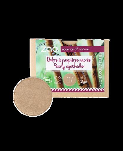 Obrázek z ZAO Perleťový oční stín 117 Pinky Bronze - náplň
