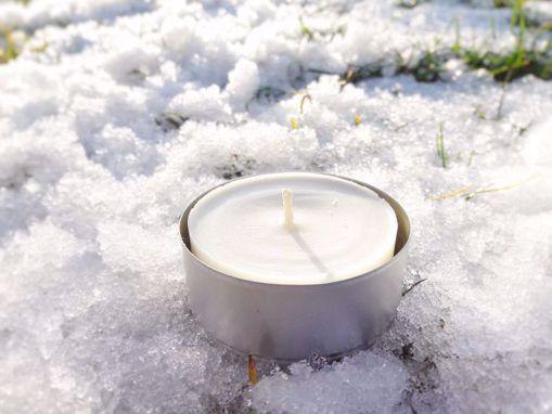 Obrázek z Soyovky SÓJOVÁ Maxi čajová svíčka (55x25 mm) - náplň