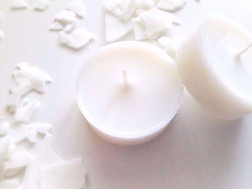 Obrázek z Soyovky SÓJOVÁ čajová svíčka - náplň