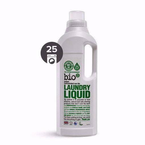 bio-D Tekutý prací gel s vůní jalovce a mořské řasy 1 l