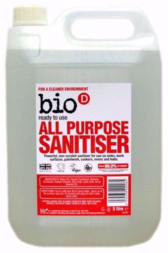 Bio-D Univerzální čistič s dezinfekcí 5l