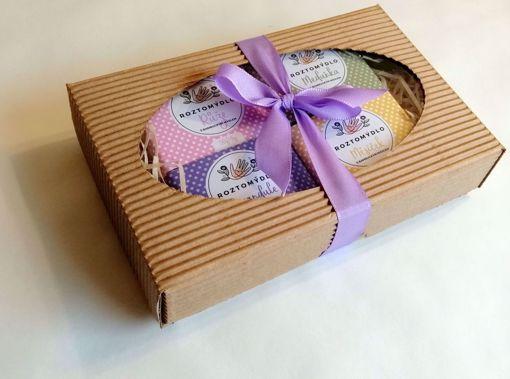 Obrázek z Roztomýdlo 4 malá mýdla v dárkové krabici dle vlastního výběru