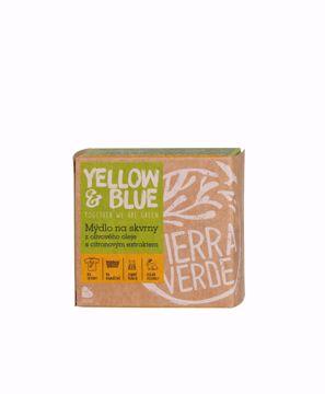 Yellow & Blue Olivové mýdlo s citronovým extraktem na skvrny 200g