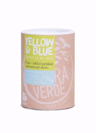 Yellow & Blue Puer dóza 1kg