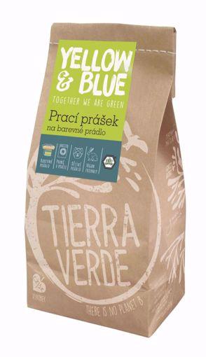 Yellow & Blue Prací prášek z mýdlových ořechů na barevné prádlo 850g papír. sáček