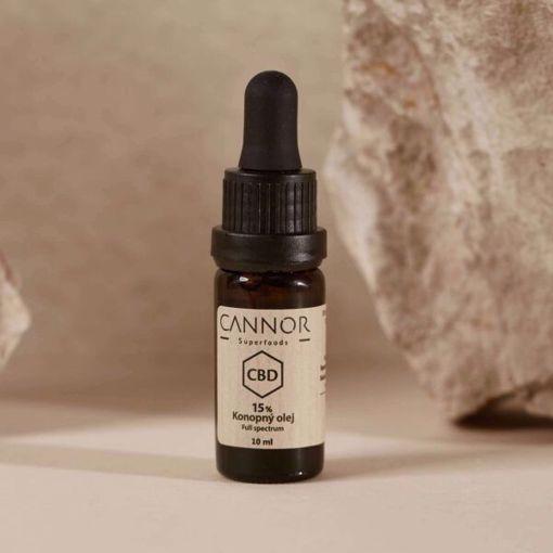 Obrázek z Cannor CBD Konopný olej celospektrální 20% 10 ml