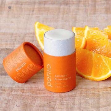 Ponio přírodní deodorant - Pomeranč & Eukalyptus 65g