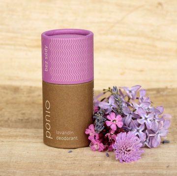 Ponio přírodní deodorant - Lavandin 65g bez sody
