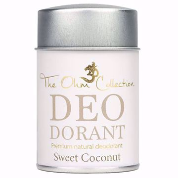 Obrázek THE OHM COLLECTION - Pudrový Deodorant SWEET COCONUT