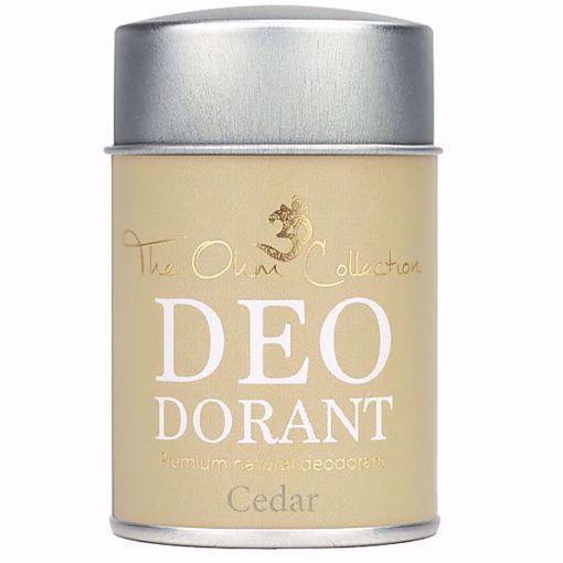 Obrázek z THE OHM COLLECTION - THE OHM COLLECTION - Pudrový Deodorant CEDAR