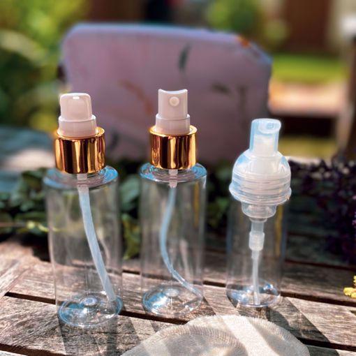 Mini lahvička s pumpičkou