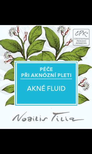 Obrázek z Nobilis Tilia Akné fluid 1 ml - vzorek sáček