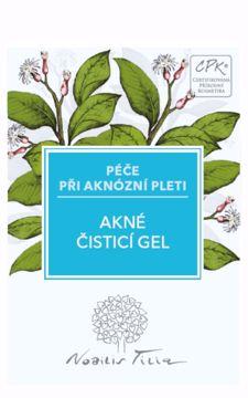 Obrázek Nobilis Tilia Akné čisticí gel 2 ml - vzorek sáček