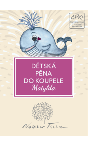 Obrázek z Nobilis Tilia Dětská pěna do koupele Matylda 4 ml - vzorek sáček