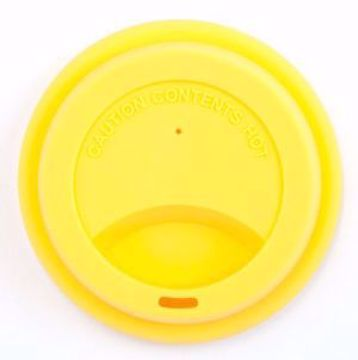 Obrázek Jack N 'Jill Silikonové víčko Žluté