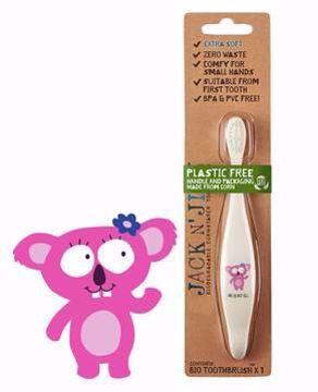 Obrázek Jack N 'Jill Dětský zubní kartáček KOALA extra měkký