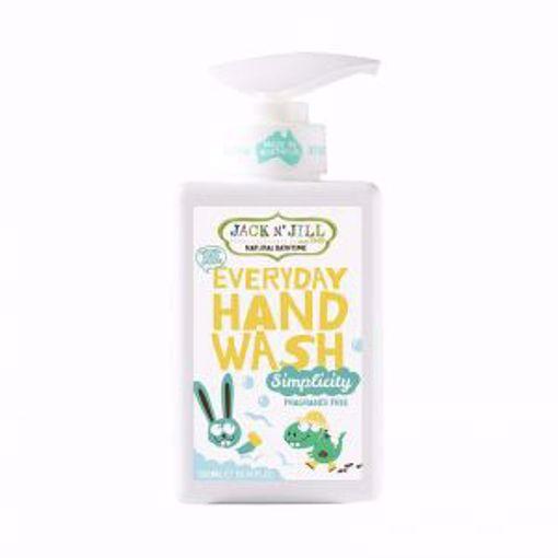 Obrázek z Jack N 'Jill Přírodní mýdlo na ruce Simplicity JEMNÉ A HYPOALERGENNÍ
