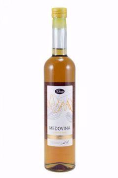 Obrázek Pleva medovina z lesního medu 0,5l